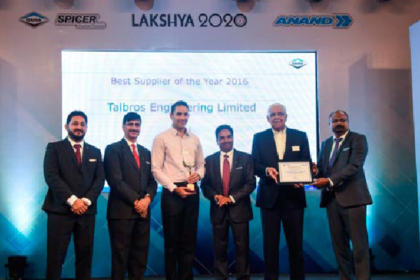 Best Supplier Performance Award - 2017