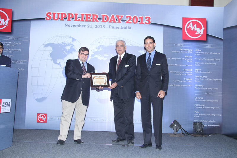 Best Supplier Performance Award (Outstanding Contribution) 2013