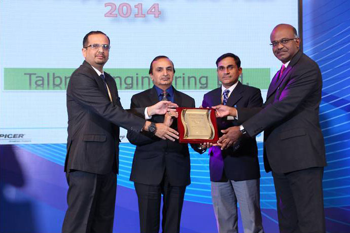 Best Supplier Performance Award (Overall Across All Commodities) 2014