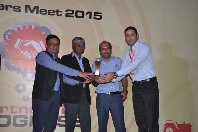 Best Supplier Performance Award (Debutant of The Year) 2015